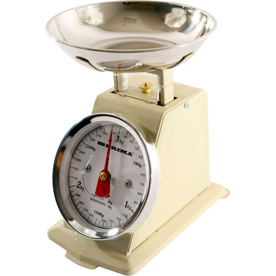 3kg 3000g retro mechanical dial scale traditional weighing for Traditional kitchen scales