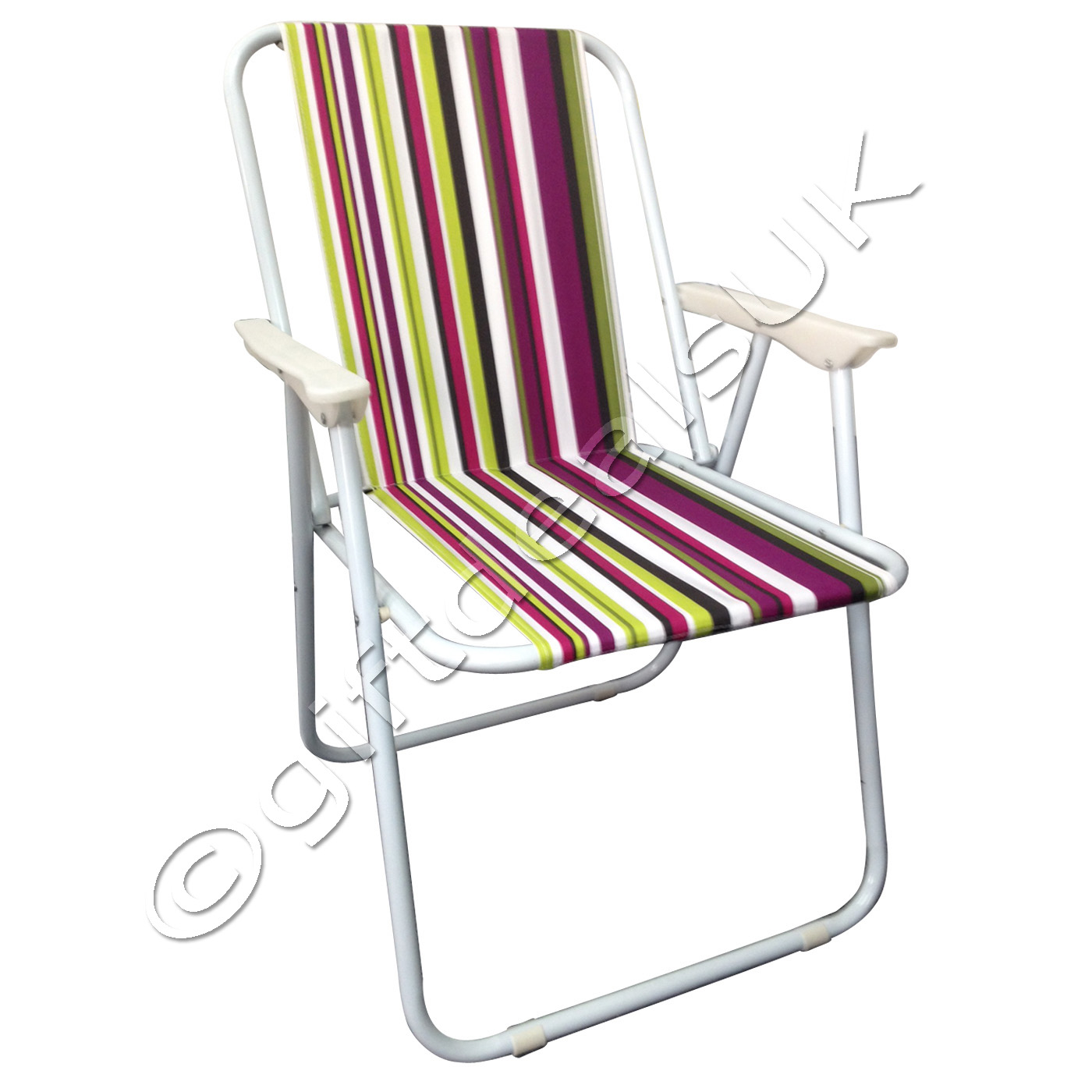 NEW DESIGN PORTABLE FOLDING DECK CHAIR OUTDOOR GARDEN LIGHTWEIGHT CAMPING CHA