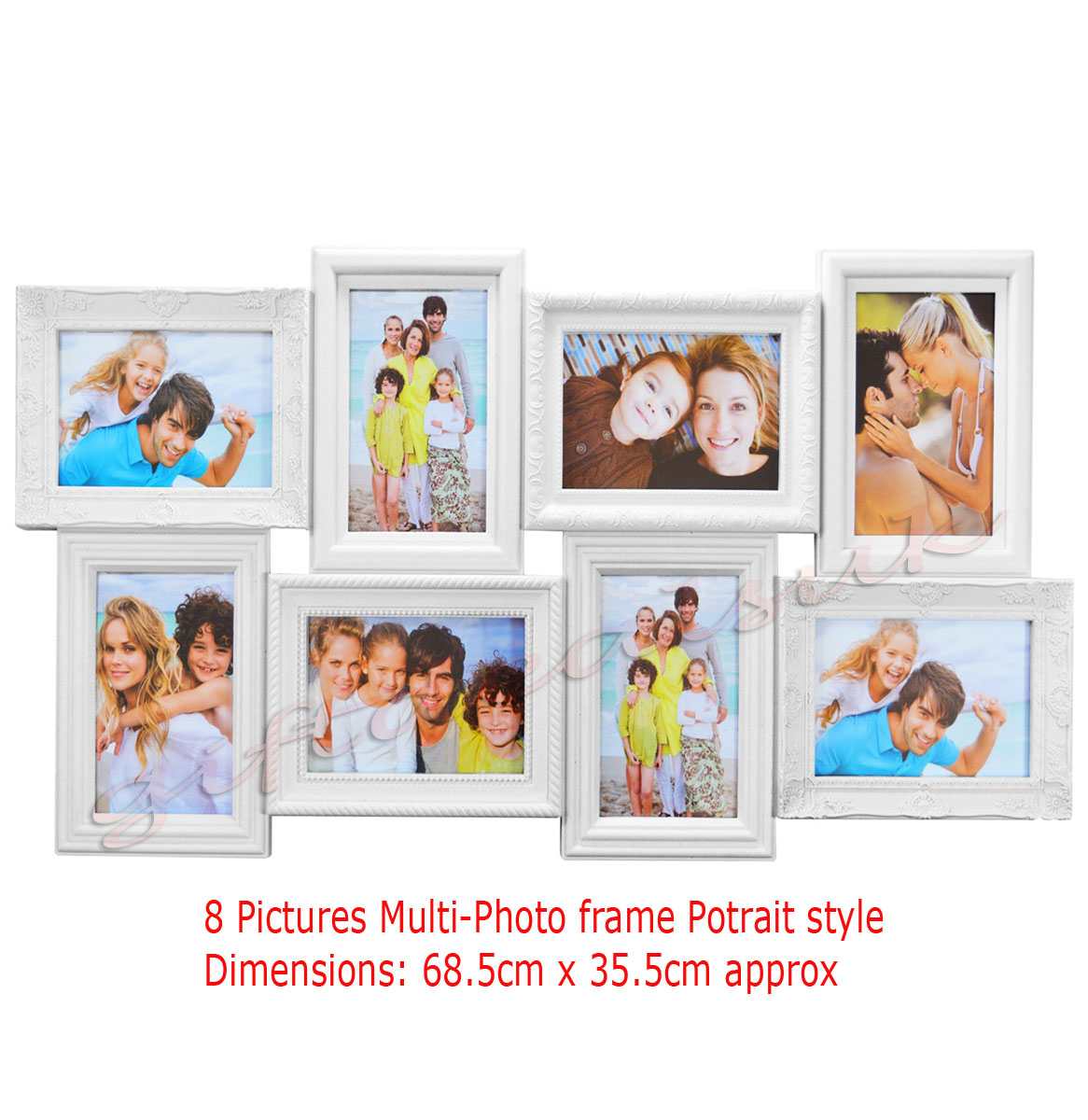 multi photo frames home decor frames picture wall set gift family love mr mrs ebay. Black Bedroom Furniture Sets. Home Design Ideas