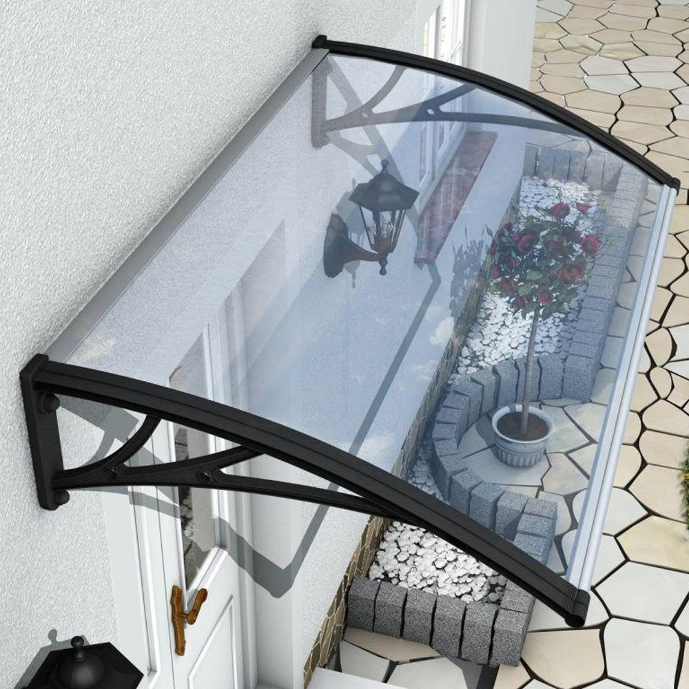 DOOR CANOPY AWNING SHELTER FRONT BACK PORCH OUTDOOR SHADE ...