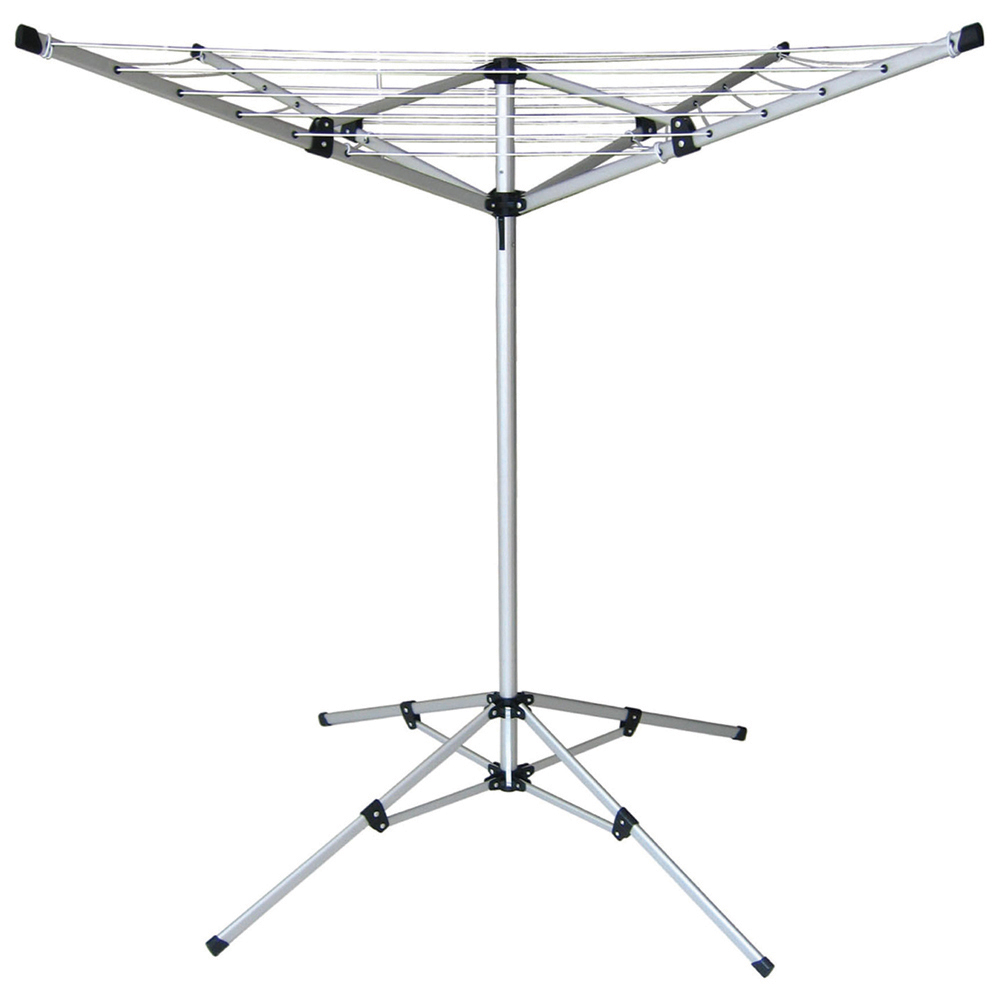 4 5 arm rotary airer multi hanger free standing wall. Black Bedroom Furniture Sets. Home Design Ideas