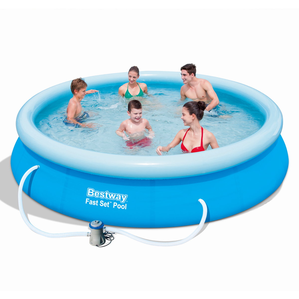 Jilong 8ft 10ft 12ft prompt set swimming inflatable for Garden paddling pools