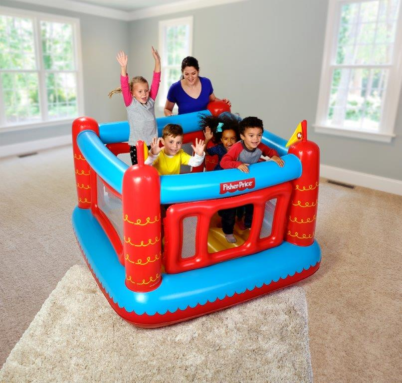Best Castle Toys For Kids : Fisher price children kids inflatable bouncy castle play