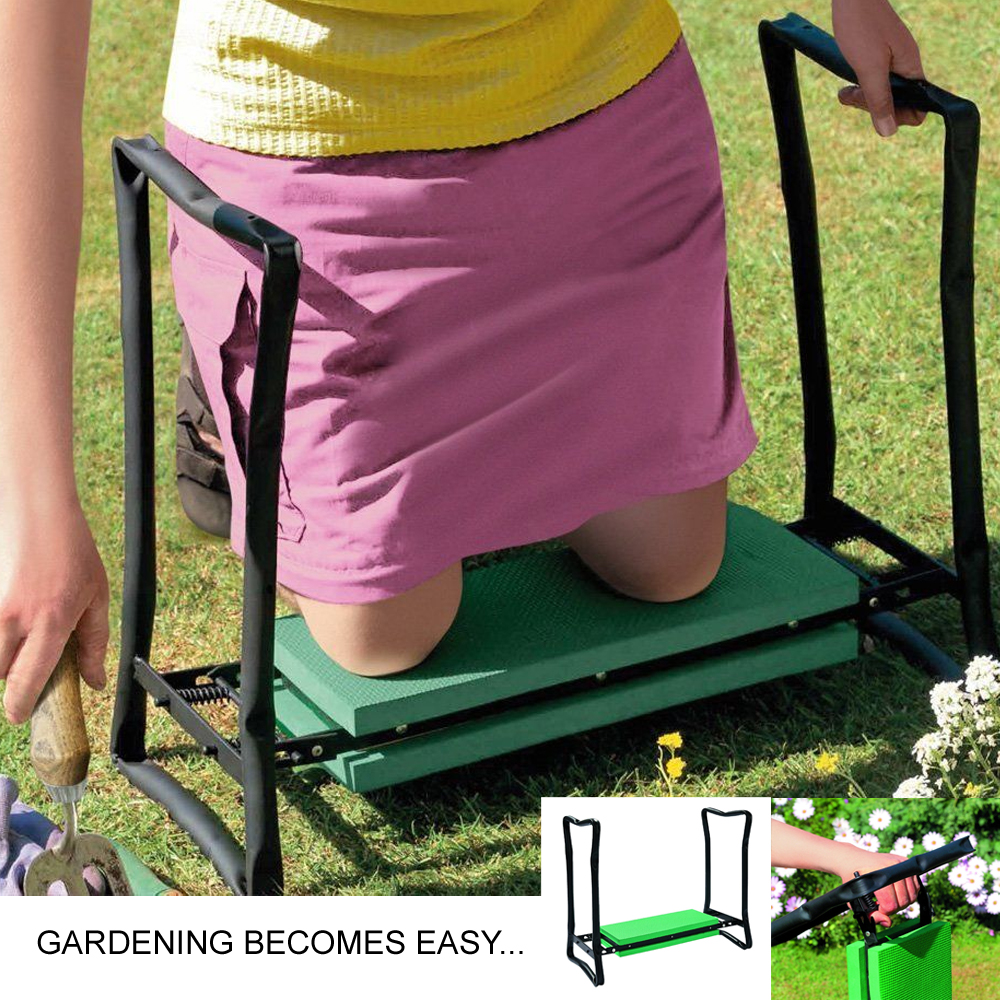 Portable Folding Garden Kneeler For Gardening Knee Pad