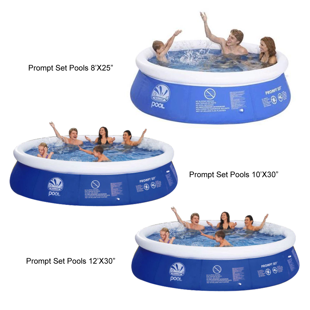 Jilong 8ft 10ft 12ft Prompt Set Swimming Inflatable Paddling Pool Garden Outdoor Ebay