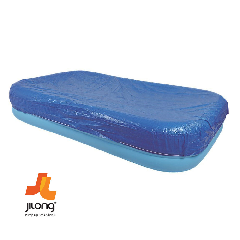 Jilong rectangular swimming inflatable paddling family for Large size inflatable swimming pool