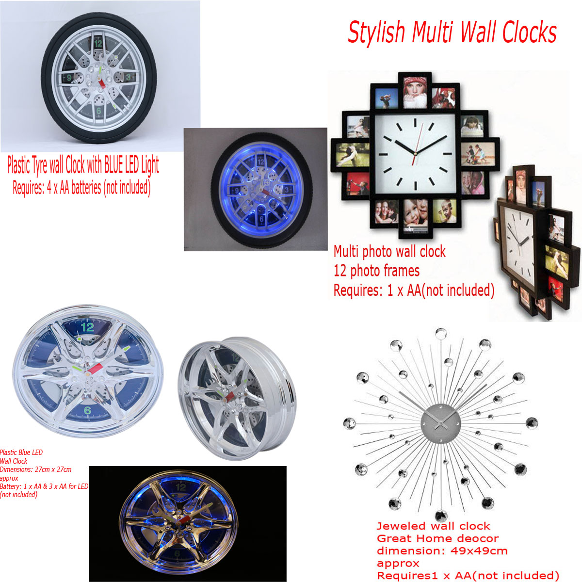 100+ [ home decor wall clocks ] | yosemite home decor wall clocks